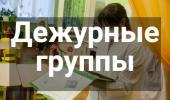 Приказ Об организации работы дежурных групп с 01.06.2020 г.